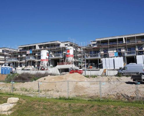 Pfleiderer: MITTELPUNKT - Heisse Klinge, Schwaikheim, Aktueller Baustatus
