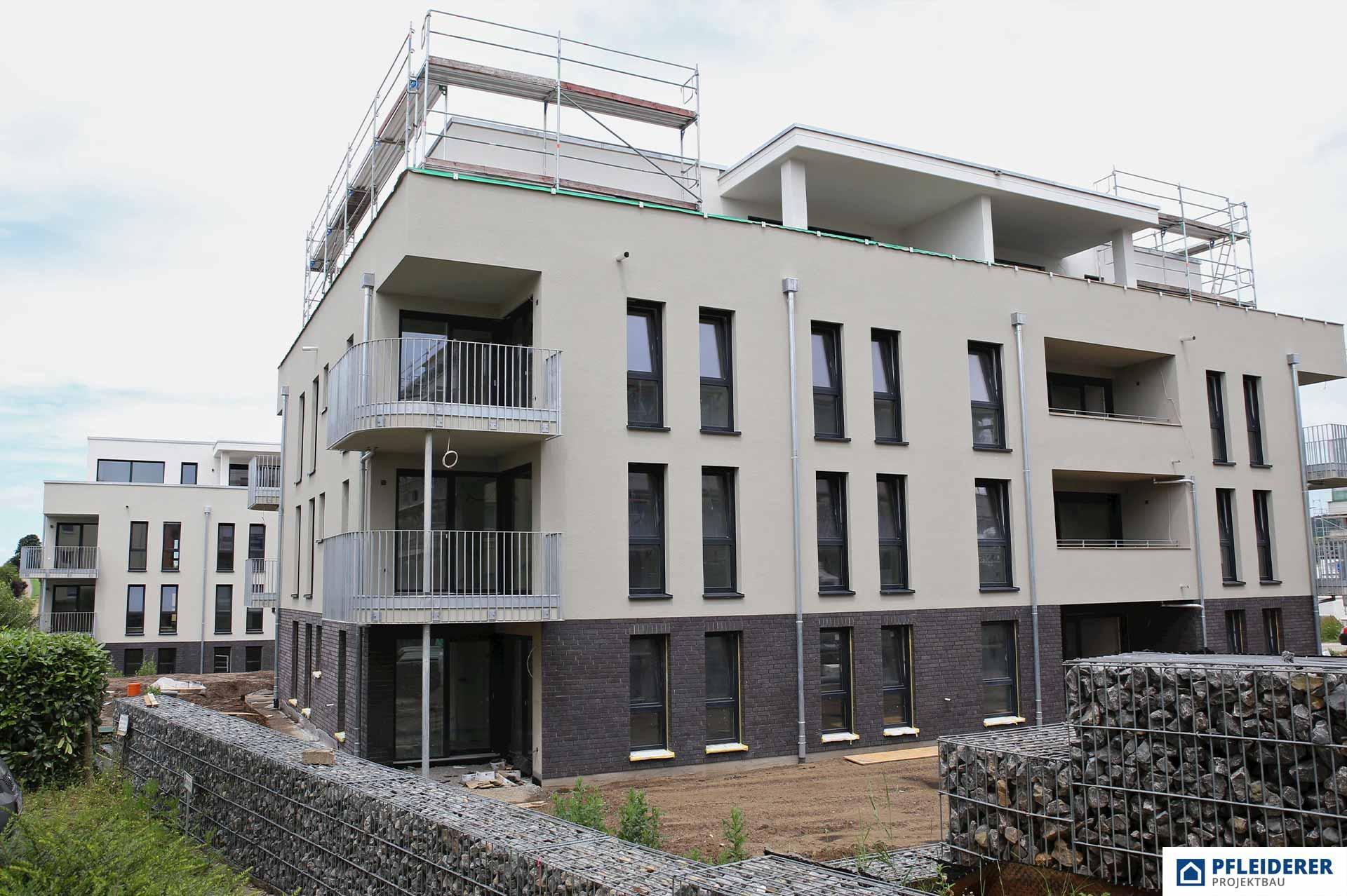 Pfleiderer Projektbau: Wohngebiet Happylife Adelsbach, Winnenden
