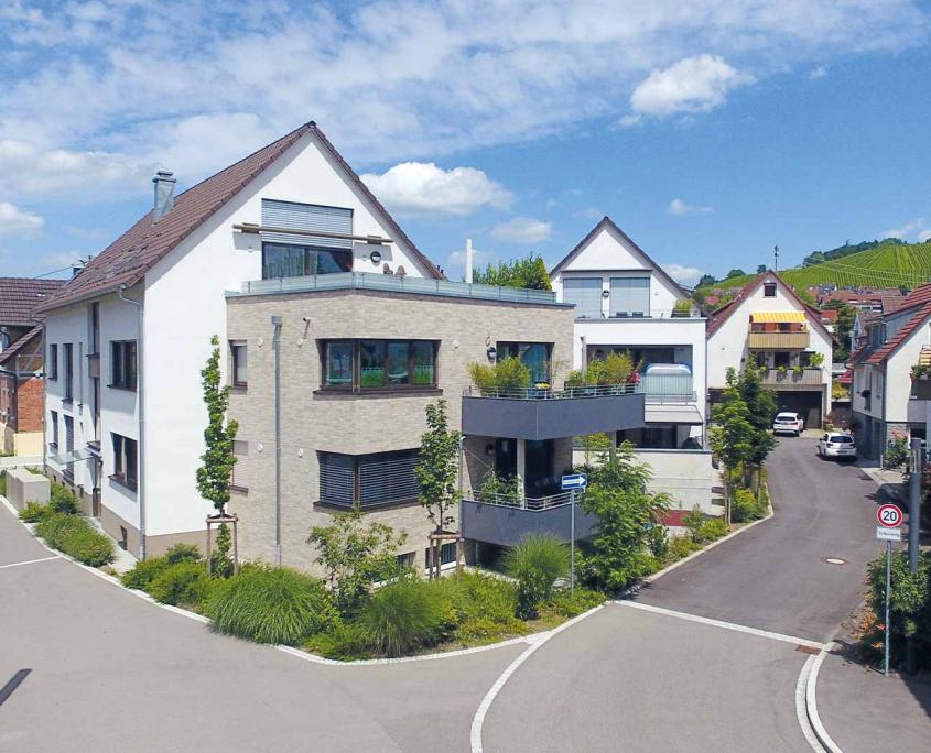 Pfleiderer Projektbau: Beutelsbach, Neubauobjekte