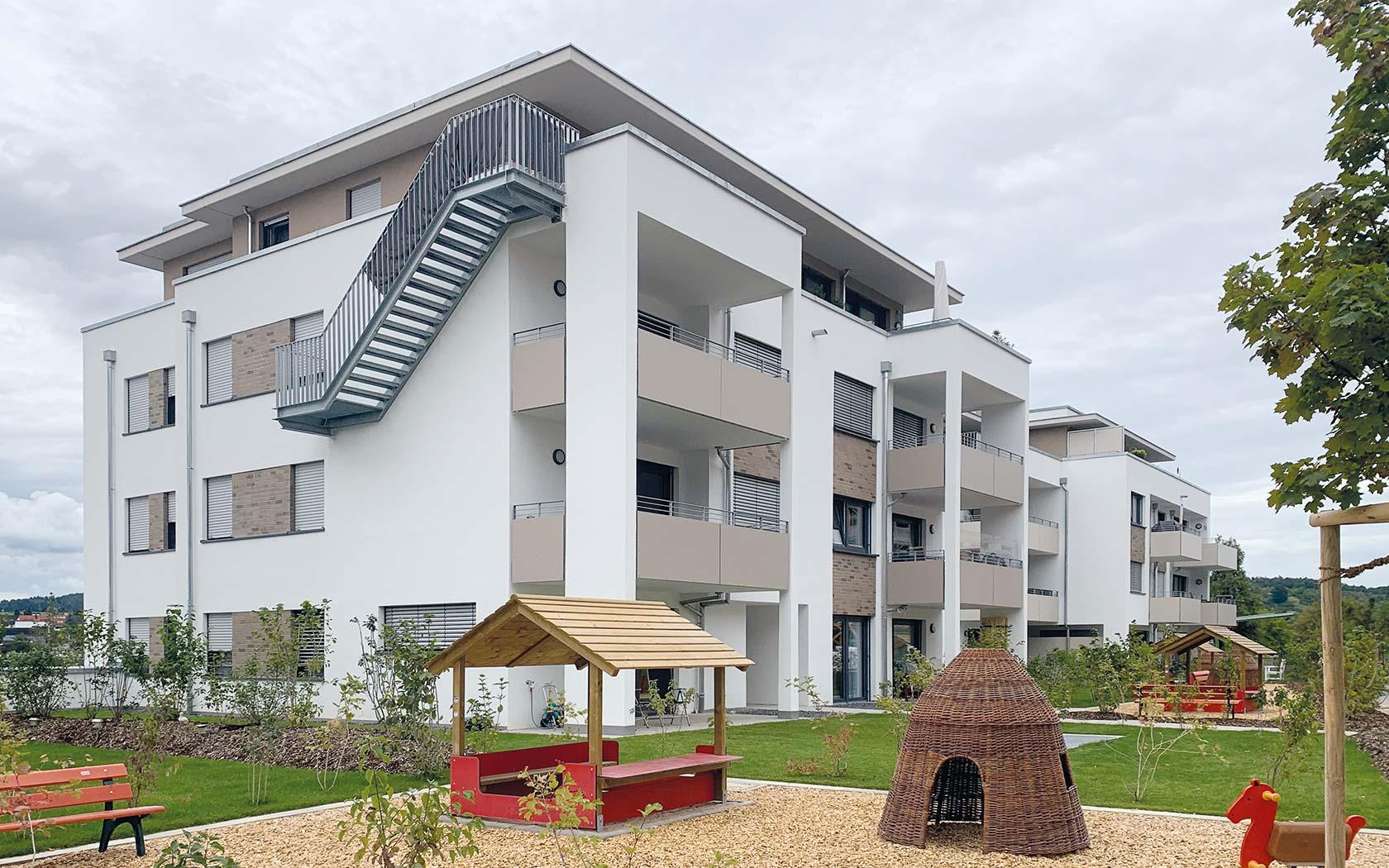 Pfleiderer Projektbau: Wohngebiet nature 8, Winnenden