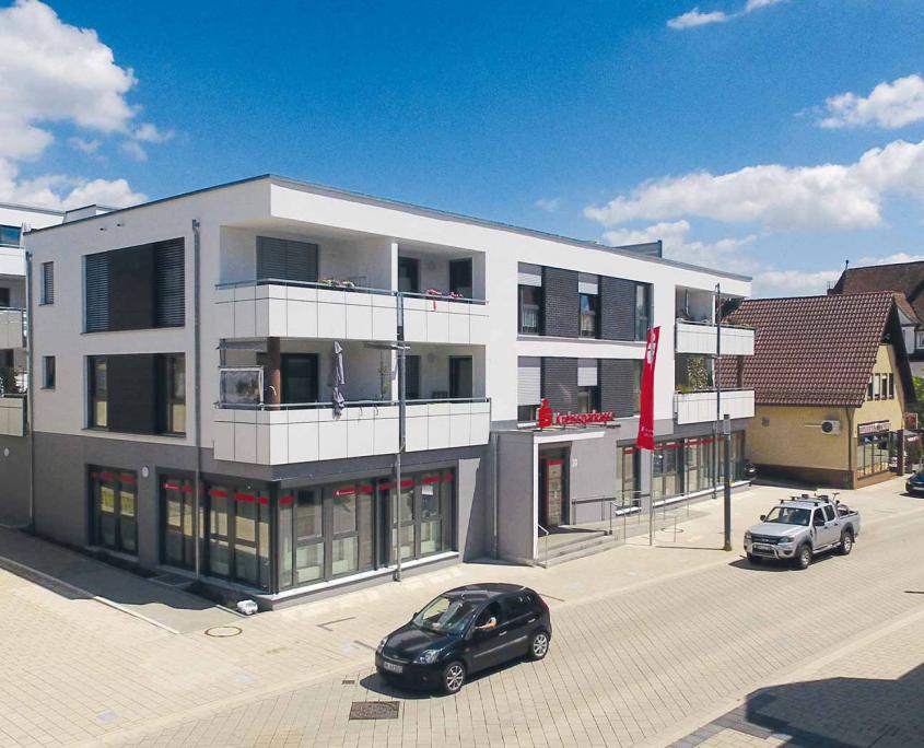 Pfleiderer Projektbau: Wohnquartier RATHAUSQUARTIER, Rudersberg