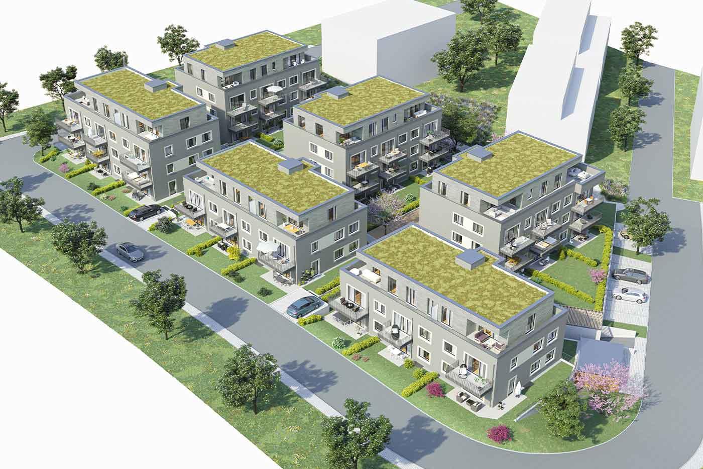 Pfleiderer Projektbau: Wohngebiet Heisse Klinge, Schwaikheim