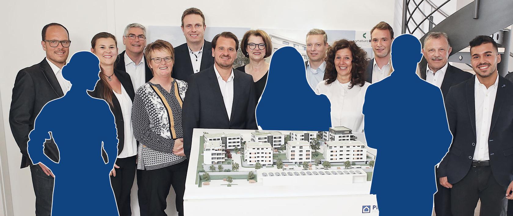 Pfleiderer Projektbau: Team