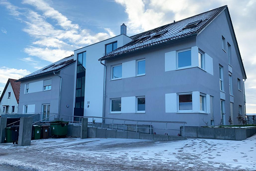 Pfleiderer Projektbau: Affalterbach, Lembergweg